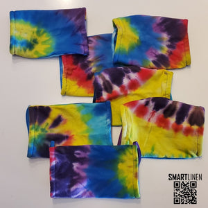 SMARTLINEN® Exclusive Tie Dyed COVID-19 Relief Face Mask [MADE IN USA]
