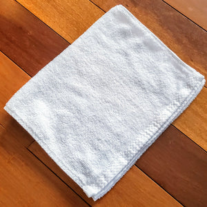 SMARTLINEN® Fitness Towel Signature White