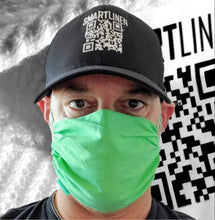 Load image into Gallery viewer, SMARTLINEN® Exclusive (LIMITED EDITION GREEN)  Washable Face Mask with SILVERbac Antimicrobial Technology