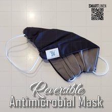 Load image into Gallery viewer, SMARTLINEN® Exclusive Washable Reversible Face Mask with SILVERbac Antimicrobial Technology