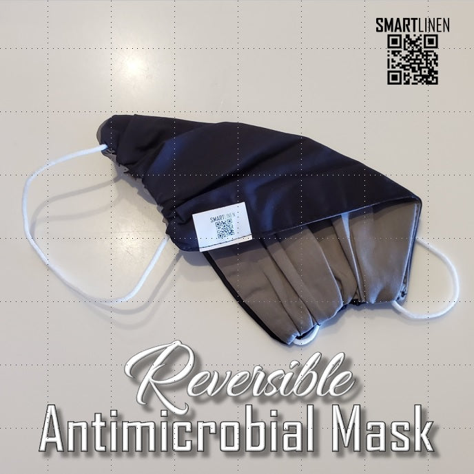 SMARTLINEN® Exclusive Washable Reversible Face Mask with SILVERbac Antimicrobial Technology