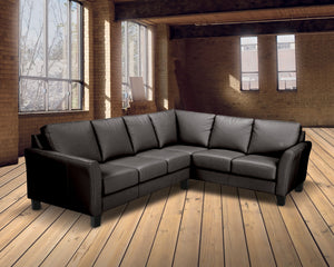 Metro Leather Sectional