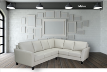 Load image into Gallery viewer, Metro Leather Sectional