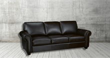 Load image into Gallery viewer, British Columbia Leather Sofa