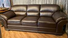 Load image into Gallery viewer, Nathan Leather Sofa