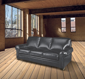 Vaughan Leather Sofa