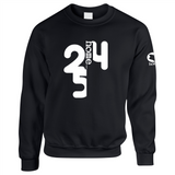 BLACK SWEATSHIRT HEAVY FABRIC