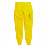 MUSTARD YELLOW  SWEATPANT LIGHT FABRIC