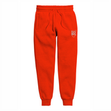RED SWEATPANT LIGHT FABRIC