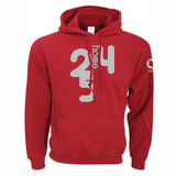RED HOODIE HEAVY FABRIC