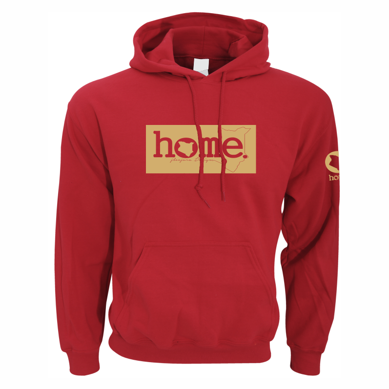 RED HOODIE LIGHT FABRIC