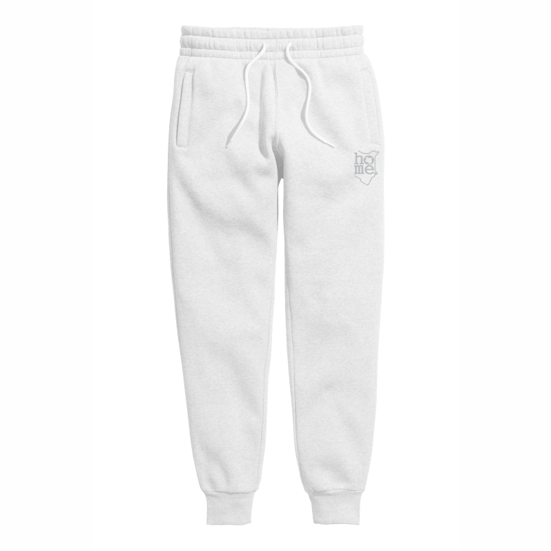 WHITE SWEATPANT LIGHT FABRIC