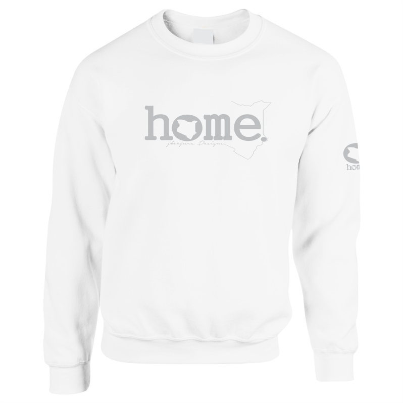 WHITE SWEATSHIRT LIGHT FABRIC