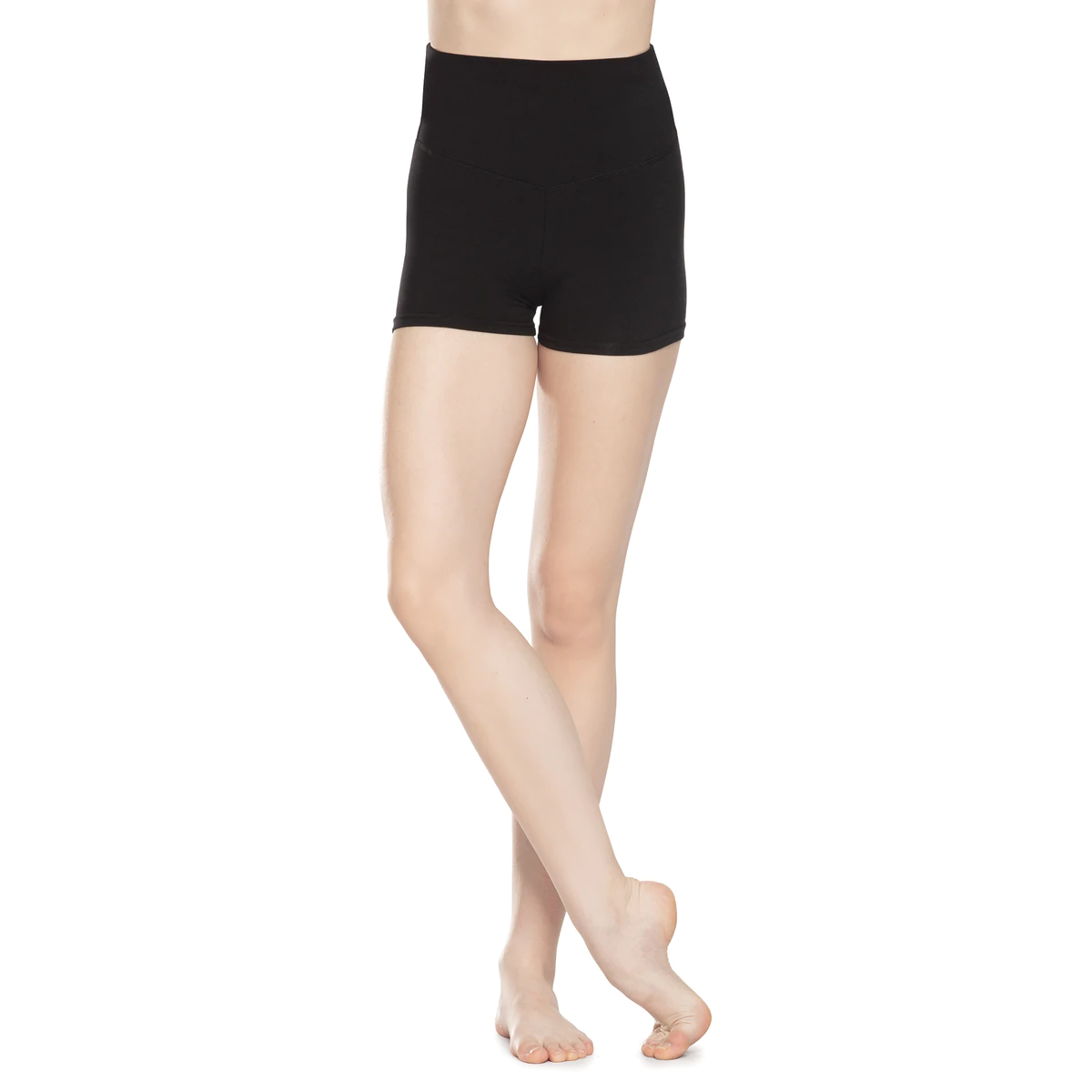 High-Waisted Performance Shorts by Revolution
