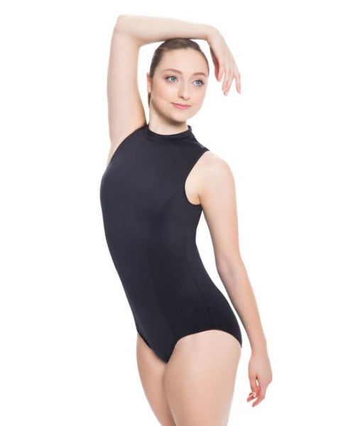 Mock Neck Leotard