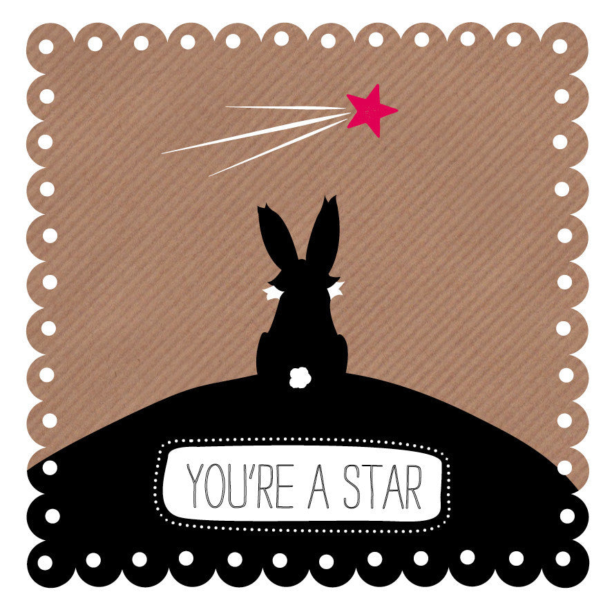 Rabbit Thinks You're A Star