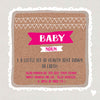 Funny Baby Girl Card