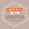 Funny Mother to Be Card