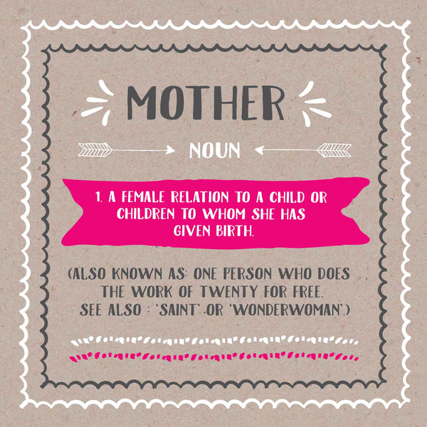 Funny Saint Mother Card