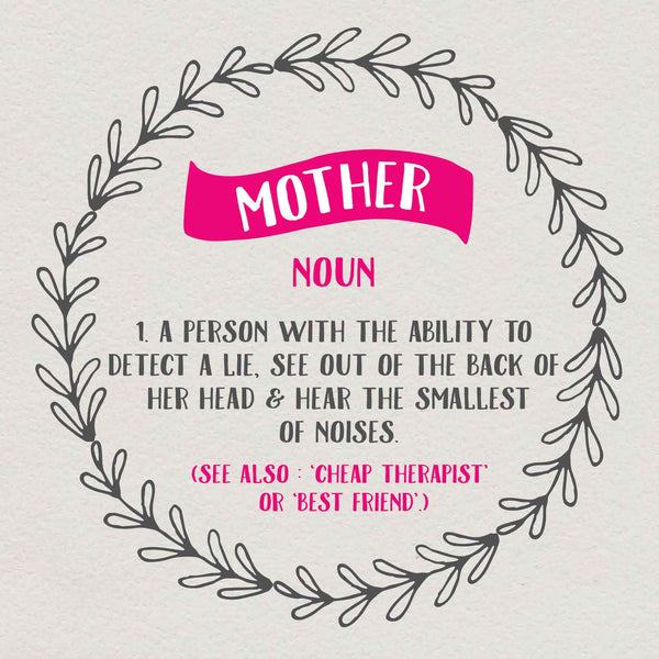 Funny Cheap Therapist Mother Card