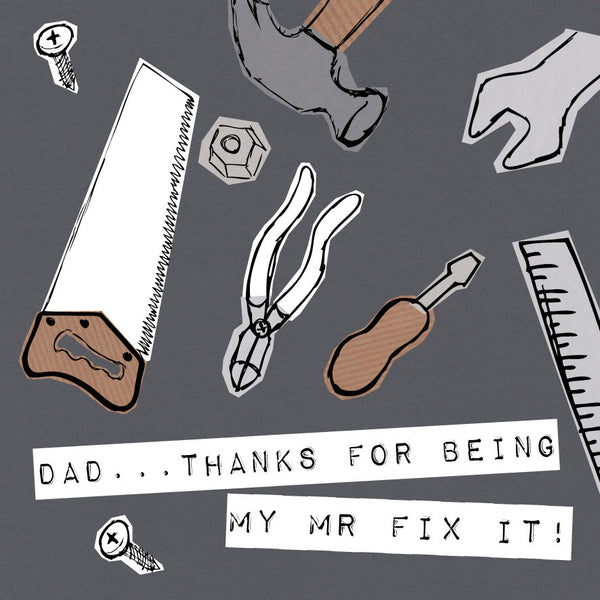Dad, My Mr Fix It