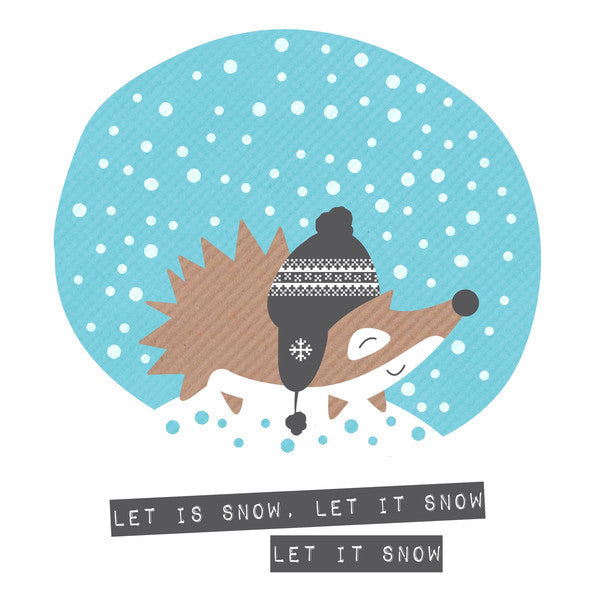 Let It Snow Hedgehog