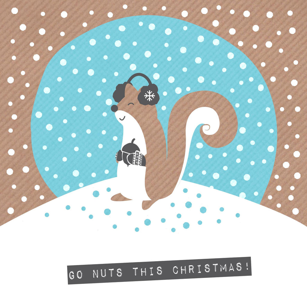 Nutty Christmas Squirrel
