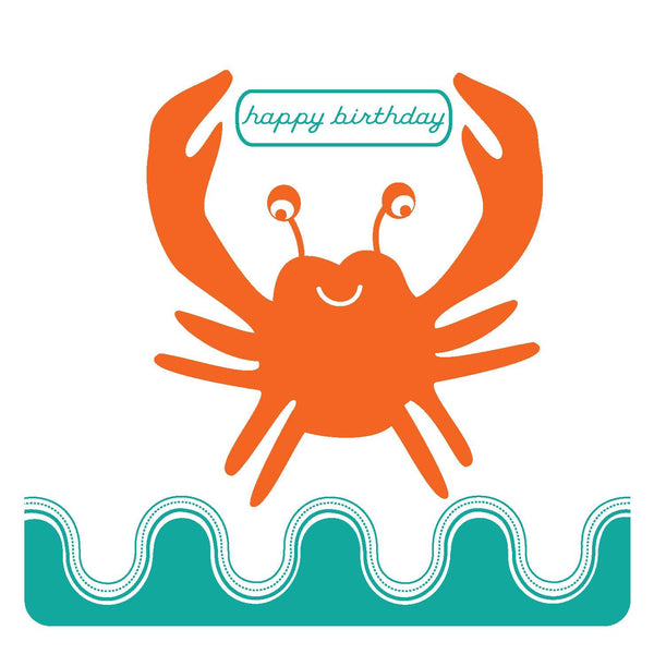 Happy Birthday Crabby Card