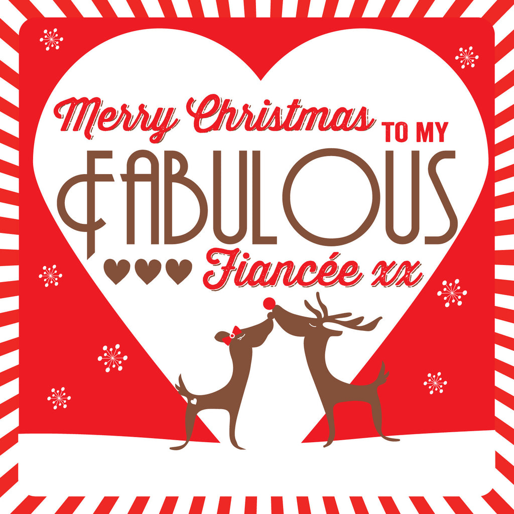 Fiancee Christmas Card