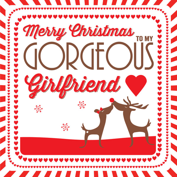 Girlfriend Christmas Card