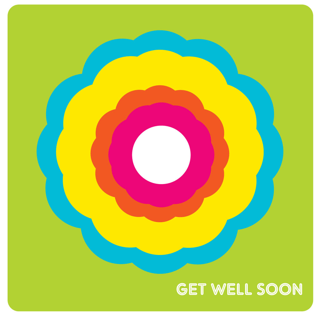 Get well Soon Daisy Chain Card