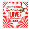 Personalised Husband Christmas Threads Card