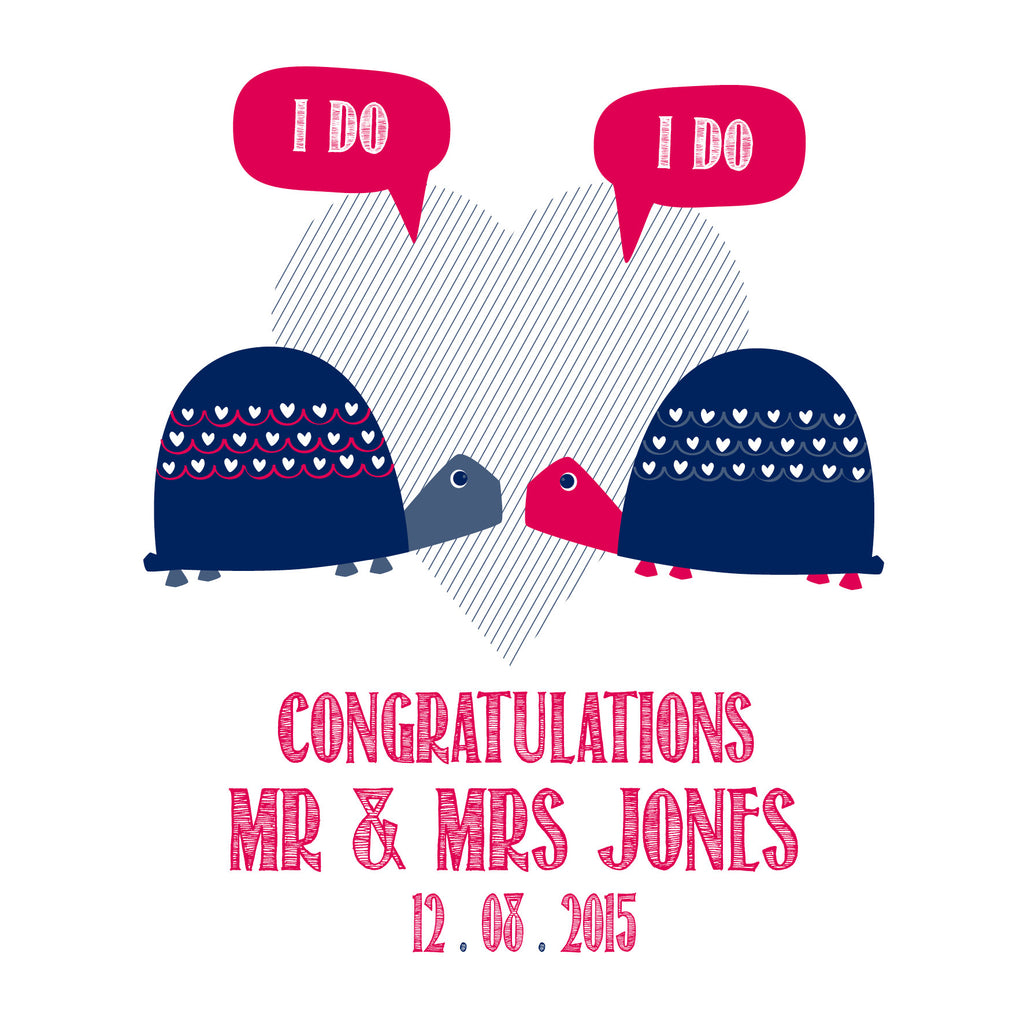Personalised  I Do! I Do! Card
