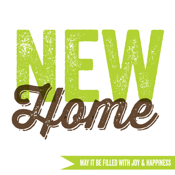 New Home May It Be Filled With Happiness