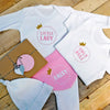 Personalised Princess Baby Girl Gift Set