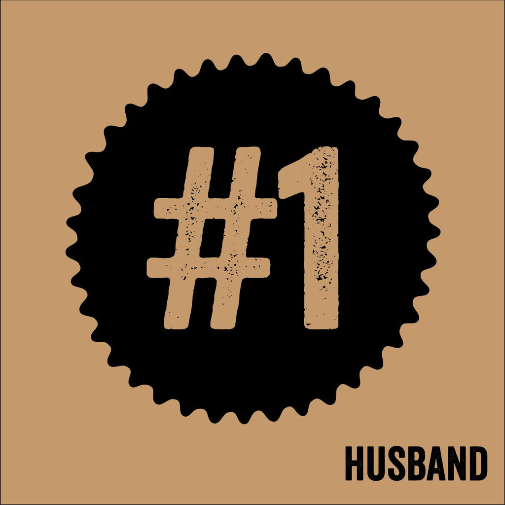 No 1 Husband Stamped