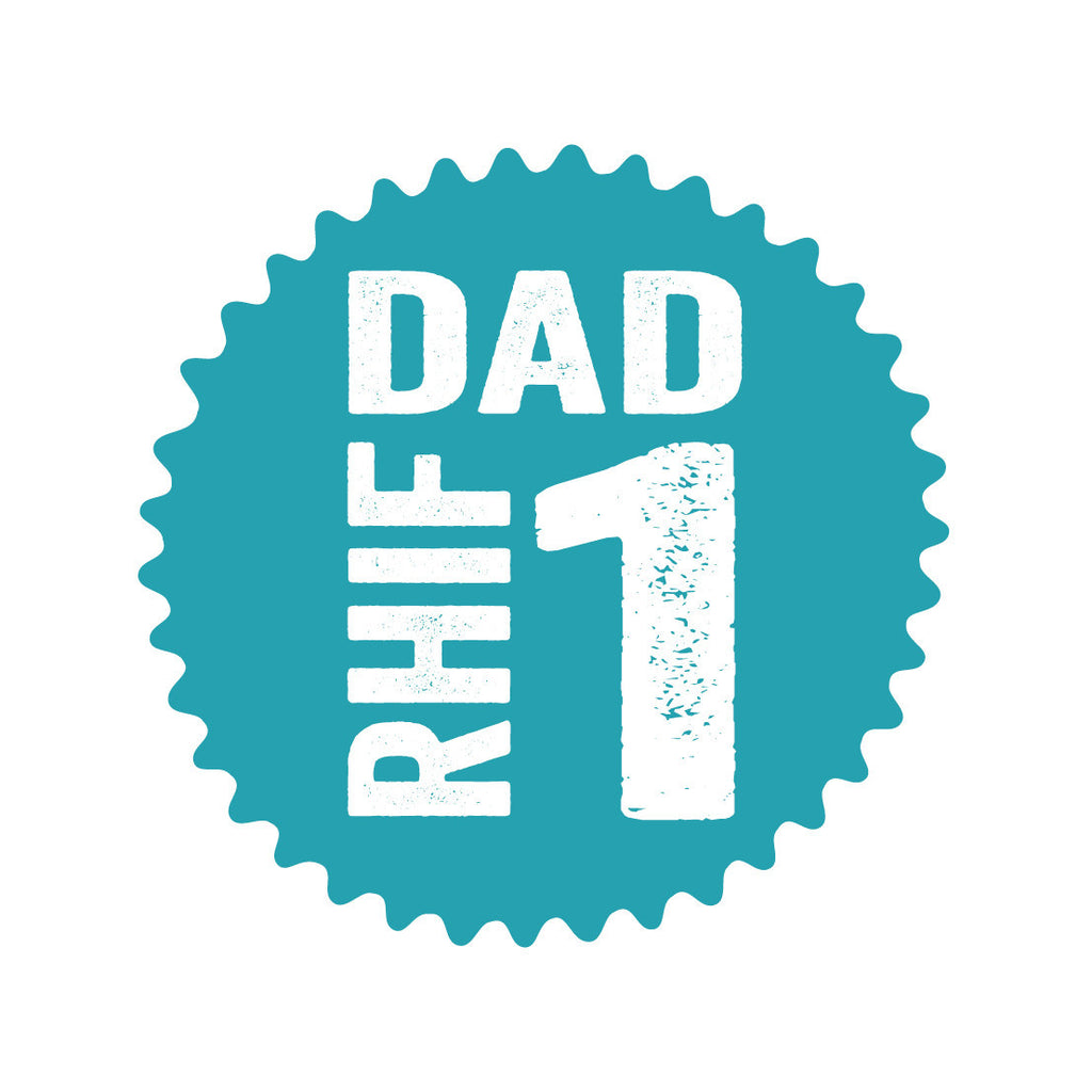 Welsh Pressed Number 1 Dad Card/ Dad Rhif 1