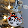 Personalised Bear Family Christmas Bauble