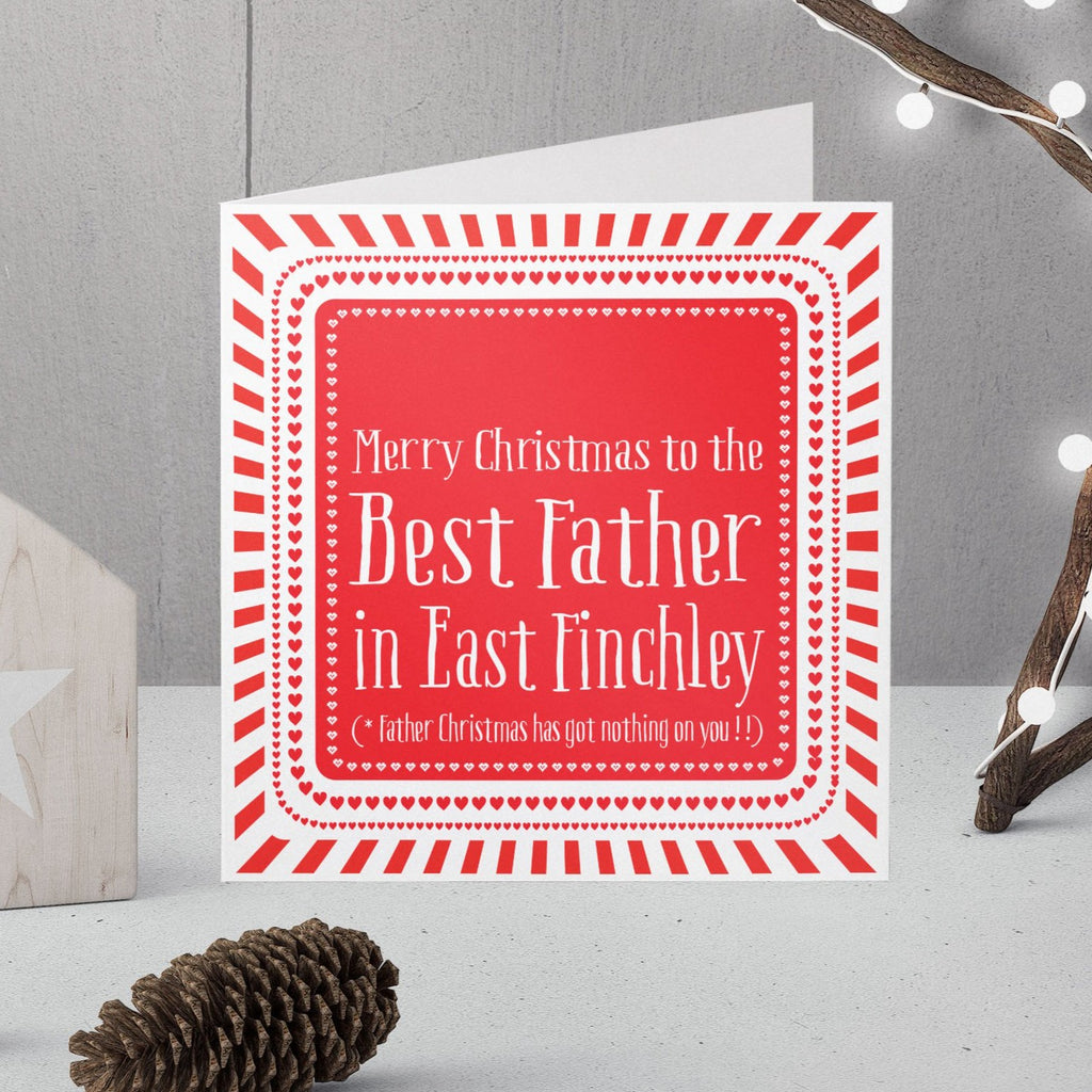 Father Christmas Card