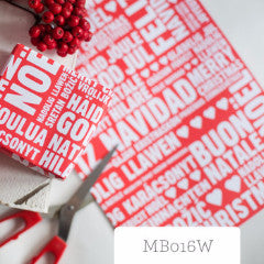 10 x Sheets Of Folded Christmas Wrap