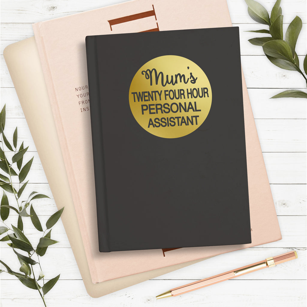 Personalised 24 Hour Personalised Assistant Notebook