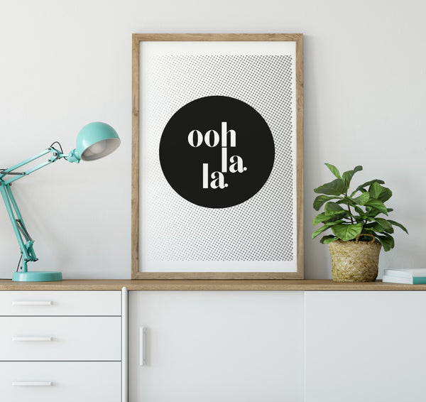 Ooh La La Graphic Print
