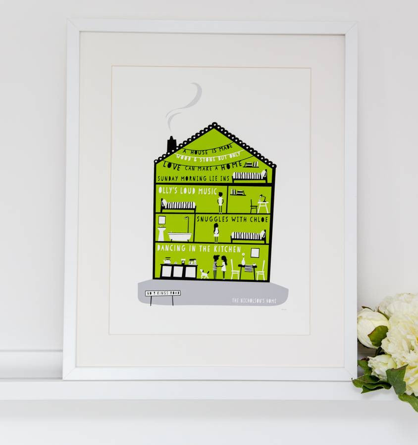Personalise Make A Home Print