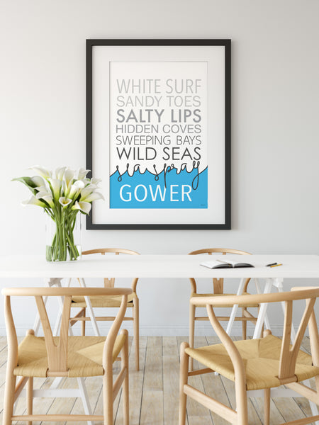 Personalised Coastal Print