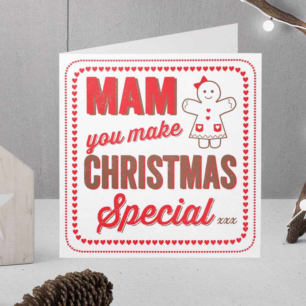 Special Christmas Card For Mum Mummy Mam Mom Mammy