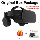 BOBO VR Z6 3D Glasses Upgrade Bluetooth Virtual Reality Glasses Box Google Cardboard Wireless VR Headset Helmet for 4.7-6.5 inch