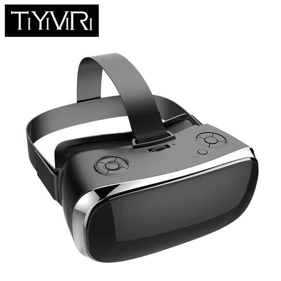TiYiViRi - VR All In One Virtual PC Glasses Virtual Reality Goggles 3D Headset  for PS4 one Game Console 2560*1440 Android 5.1 VR All