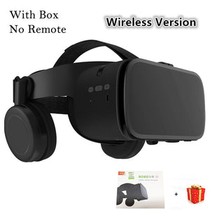 Bobo VR Bobovr Z6 Bluetooth 3D Casque Virtual Reality Headset Helmet Goggles Lenses Video for Phone Smartphone
