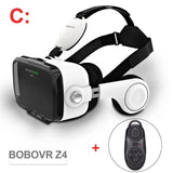 Bobovr Z4 VR Box 3D Glasses Virtual Reality Mini Google Cardboard Helmet VR Glasses Headsets BOBO VR for 4-6 inch Mobile Phone