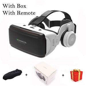 VR Shinecon Casque Helmet 3D Glasses Virtual Reality For Smartphone